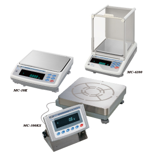 MC Series Mass Comparators (Precision Balances with Extended Readability)